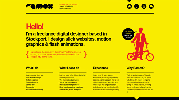 fave web designs of week 396 Our Fave Web Designs of the Week No.39