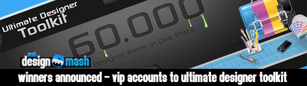 winners vip account ultimate designer toolkit Winners Announced   VIP Accounts for Ultimate Designer Toolkit