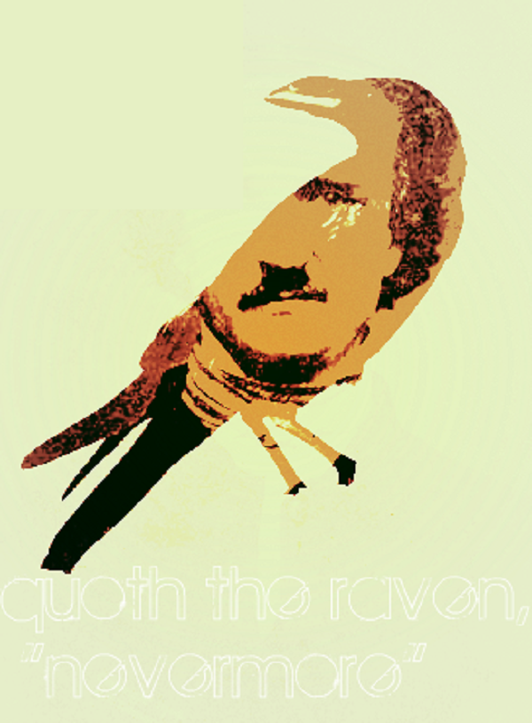 16 nevermore by Monkeygravy341 Of Mystery and Macabre – 20 Images of Edgar Allan Poe's The Raven
