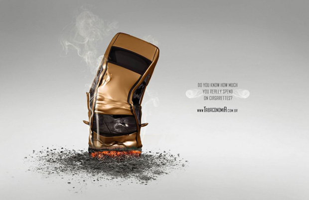 anti smoking ads 17 Collection of Anti Smoking Advertising Campaigns