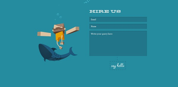 contact form 15 30 Awesome & Different Web Contact Forms for Inspiration