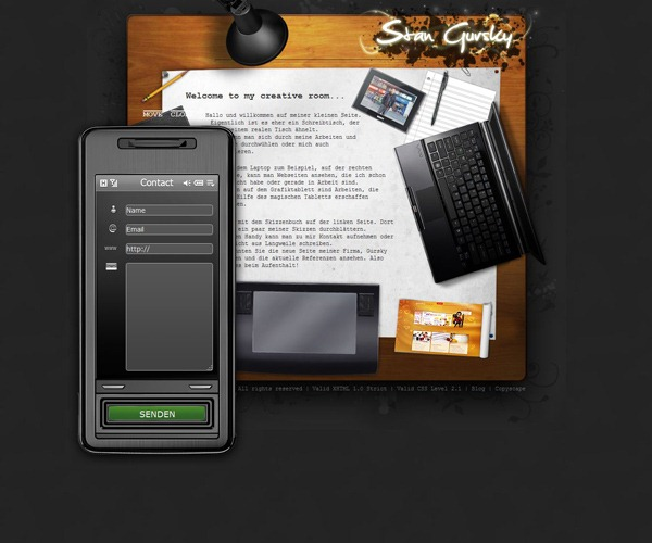 contact form 24 30 Awesome & Different Web Contact Forms for Inspiration