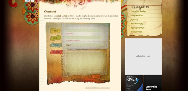 contact form 30 30 Awesome & Different Web Contact Forms for Inspiration