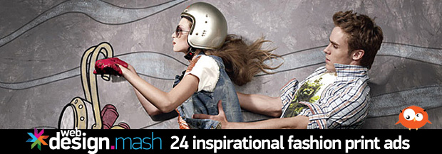 inspired fashion print ads 24 Inspirational Fashion Print Ads