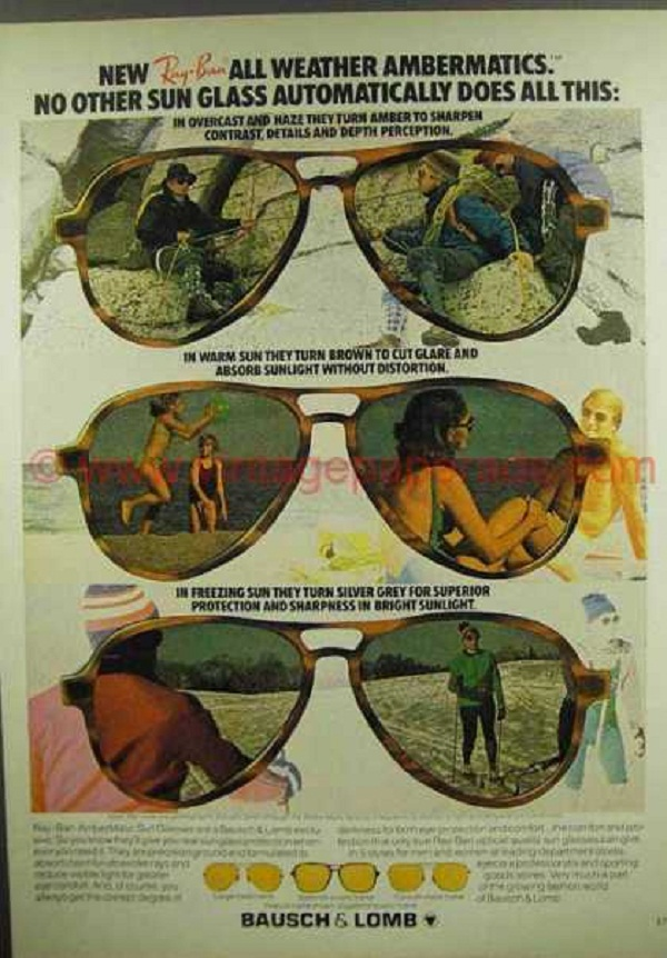 03 rayban Never Hide! – 20 Cool Ray Ban Vintage and Modern Ads