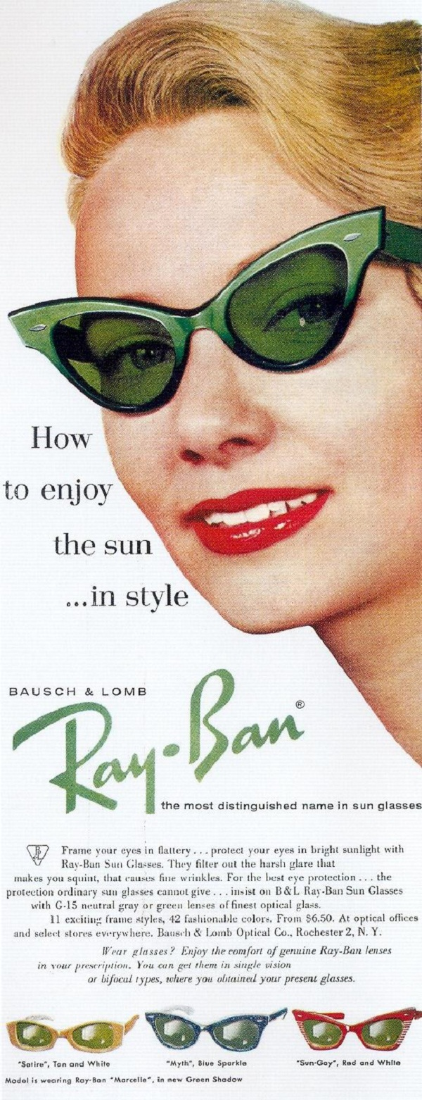 08 rayban Never Hide! – 20 Cool Ray Ban Vintage and Modern Ads