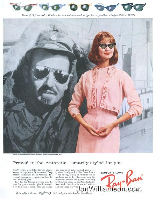 11 rayban Never Hide! – 20 Cool Ray Ban Vintage and Modern Ads