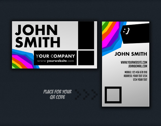 business cards 131 20 FREE New Business Card Templates for 2012