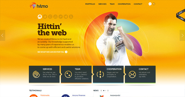 fave web designs of week 427 Our Fave Web Designs of the Week No. 42