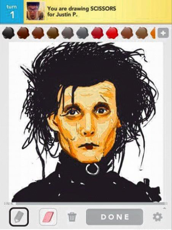 draw something artwork 12 40 Excellent  Draw Something Drawings
