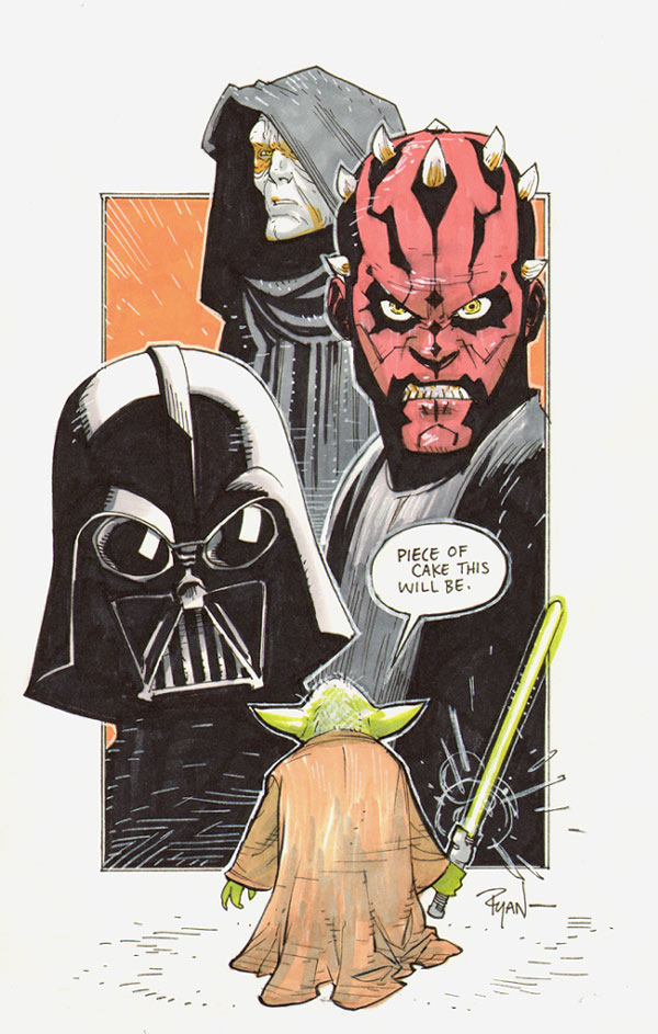 star wars art 11 May the 4th Be With You   Official Star Wars Day   A Tribute in Art