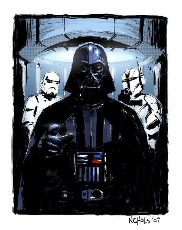 star wars art 19 May the 4th Be With You   Official Star Wars Day   A Tribute in Art