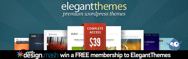 win a free membership to elegantthemes Win a FREE Membership to ElegantThemes
