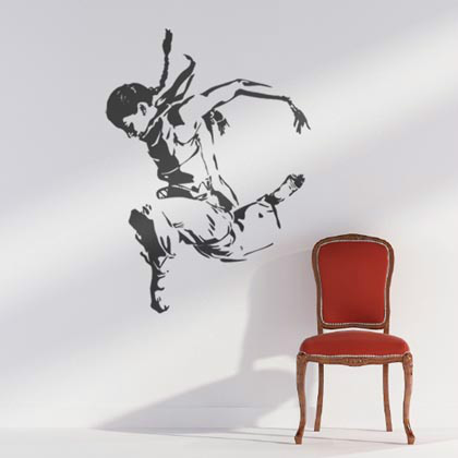 awesome wall stickers 007 26 Awesome Wall Sticker Designs