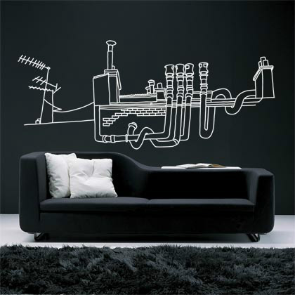 awesome wall stickers 010 26 Awesome Wall Sticker Designs