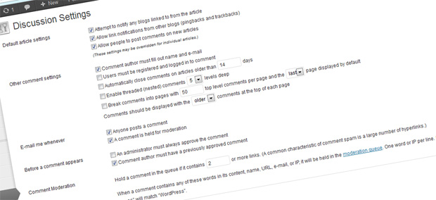 comments Blogger's Bottleneck? For and Against Moderating Comments in WordPress