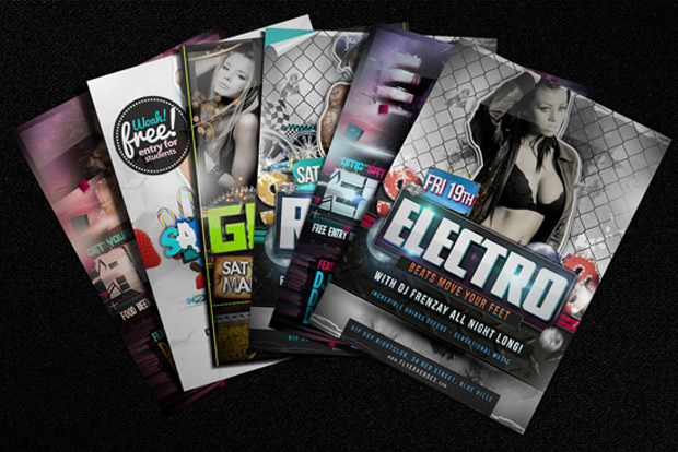 Free Flyer Mockups Template