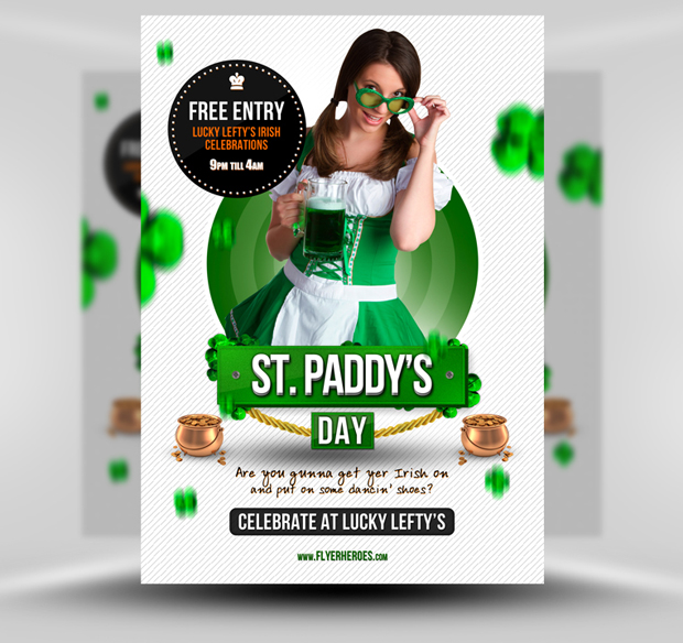 Free St. Patrick's Day Flyer Template