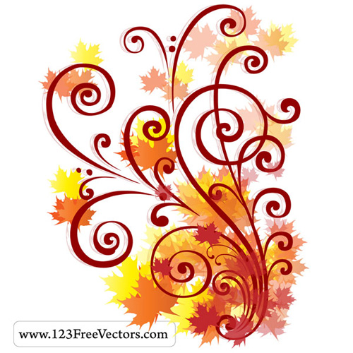 Vector flourishes swirls 06 35 FREE Vector Flourishes and Swirls for Inspiration