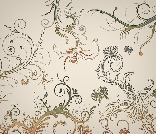 Vector flourishes swirls 11 35 FREE Vector Flourishes and Swirls for Inspiration
