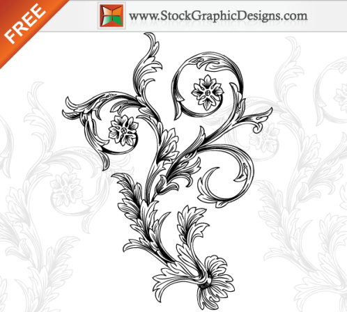 Vector flourishes swirls 211 35 FREE Vector Flourishes and Swirls for Inspiration