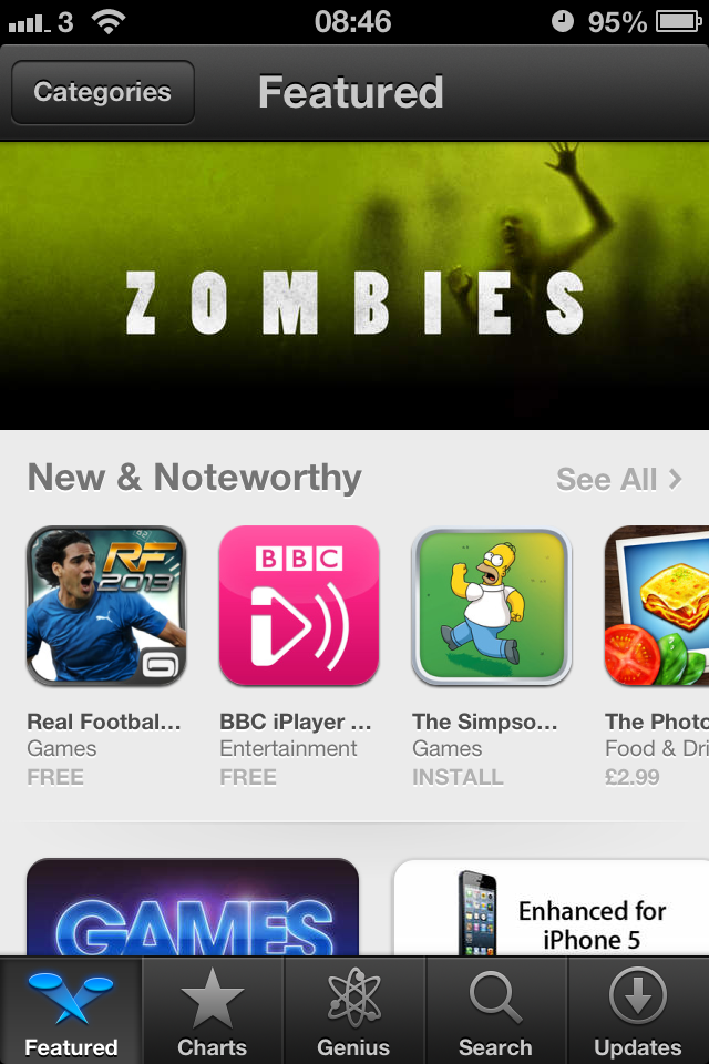 IMG 1769 The New iOS6 App Store: Modifications That Will Help You!