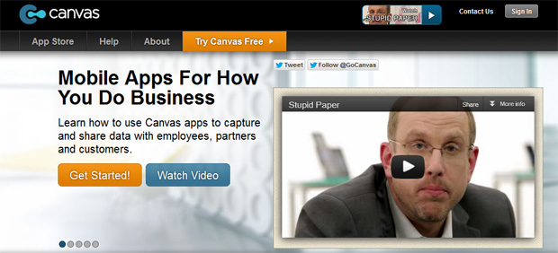canvas Best Web Apps Building Tools