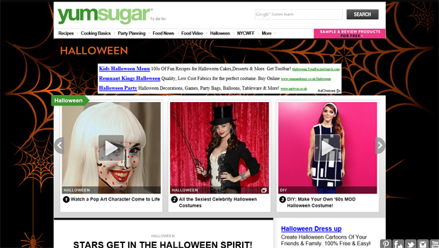 halloween sites 03 10 Inspiring Websites to Get You in the Mood for Halloween