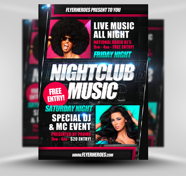 Limited Offer Get Flyerheroes Club Flyer Templates Bundles For