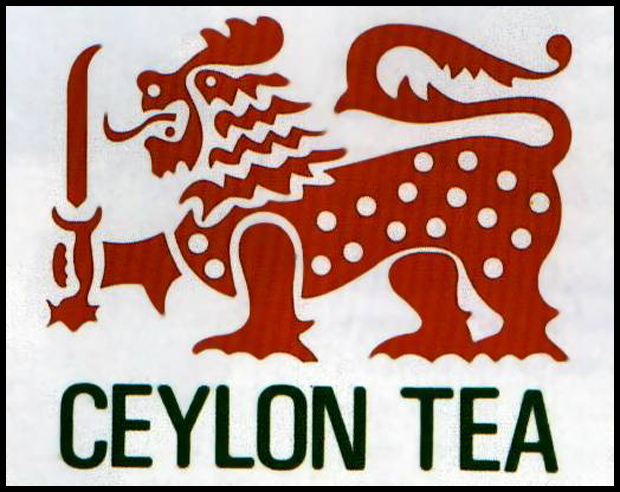 Ceylon tea lion 10 Logos Inspired by the The Lion   King of the Beasts
