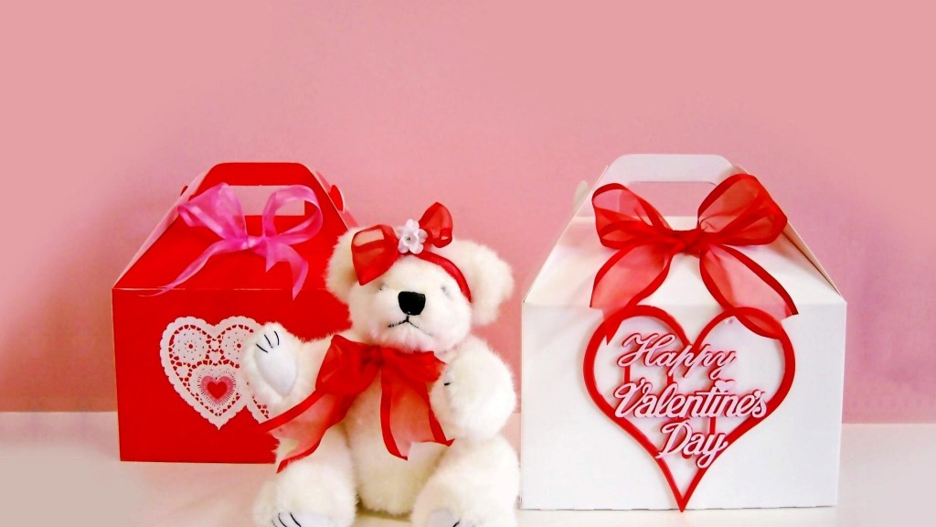 Happy Valentines Day Gifts HD Wallpaper1 1024x576 24 Incredibly Beautiful Valentines Day Desktop Wallpapers