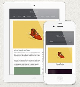 01 preview1 e1363100999952 Easy Free and Cheap Mobile Wordpress Themes